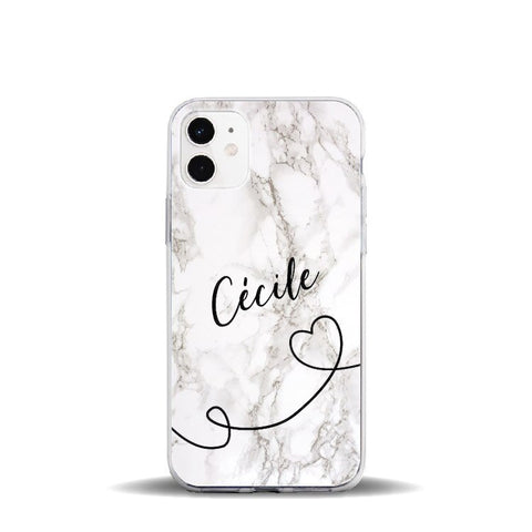 Personalised Marble Phone Case for iPhone - Case Monkey