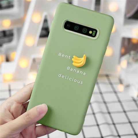 3D Fruit Bananas Silicone Phone Case - Case Monkey