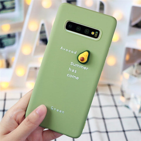 3D Fruit Avocado Phone Case for Samsung - Case Monkey