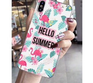 Hello Summer Flamingo Phone Case - Case Monkey