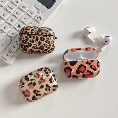 Leopard Print Case Cover for Airpods Pro - Case Monkey