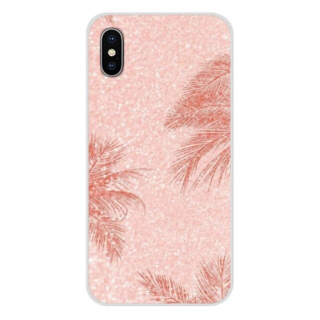 Rose Gold Palm Leaf Phone Case For Huawei - Case Monkey