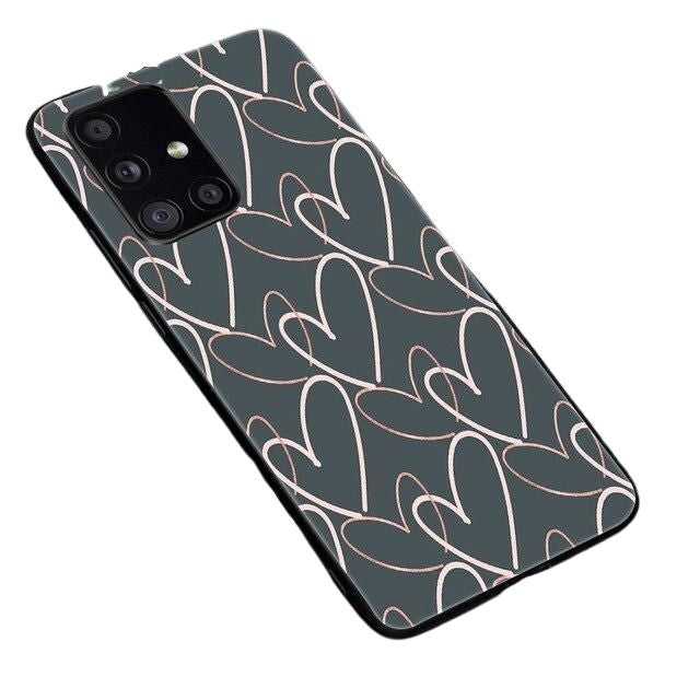 Pencil Heart Phone Case For Samsung - Case Monkey