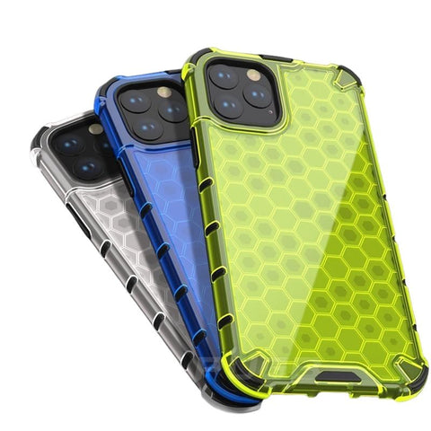 Airbag Shockproof Honeycombe Armour Case For iPhone - Case Monkey