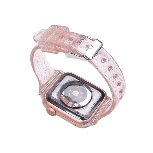 Glitter Silicone Watch Strap for Apple Watch - Case Monkey