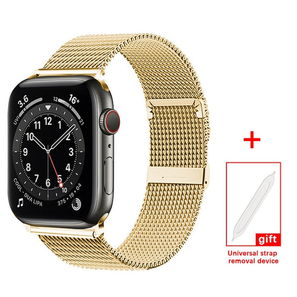 Milanese Loop Bracelet Strap For Apple Watch All Series - Case Monkey