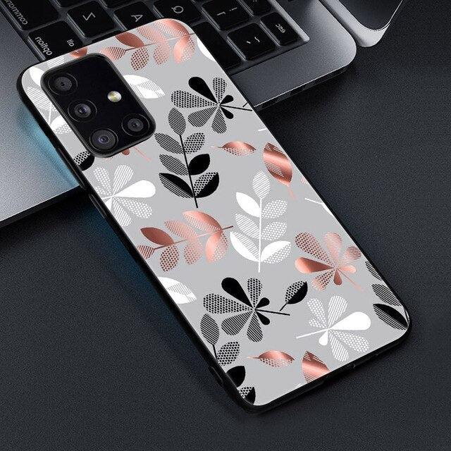 Leaf Pattern Phone Case For Samsung - Case Monkey