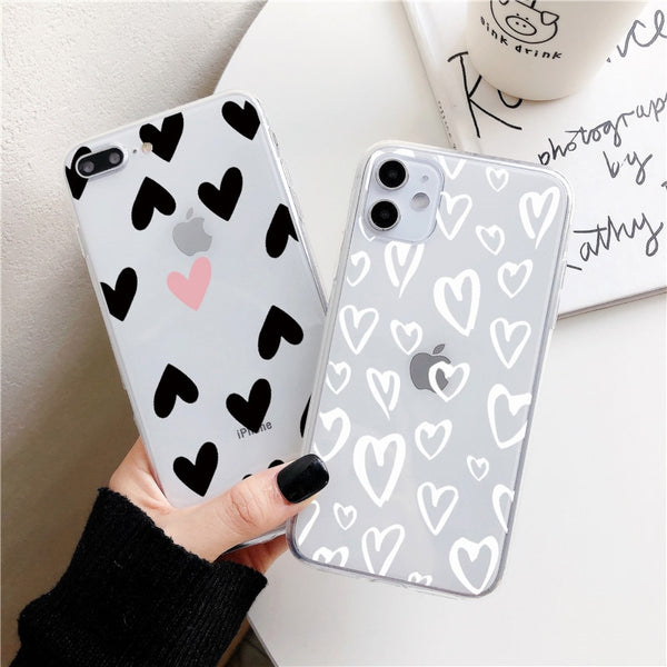 Black Heart Phone Case For Samsung - Case Monkey