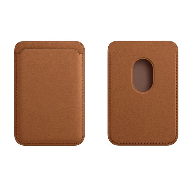Leather Mag Card Holder For iPhone - Case Monkey