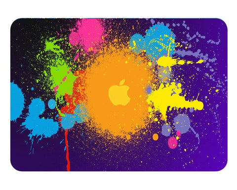 Paint Splat Pattern Protective Skin For Apple Macbook - Case Monkey