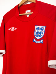 Umbro England 2010 World Cup Away Jersey - L