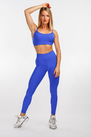 "Curve Leggings ""Blue"""