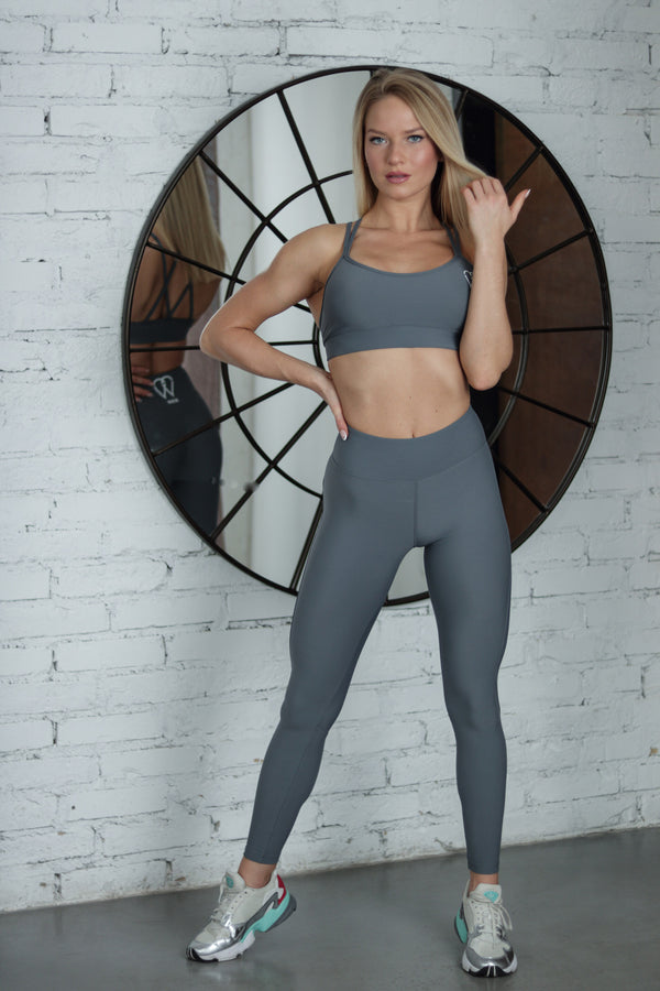 "Curve Leggings ""Grey"""