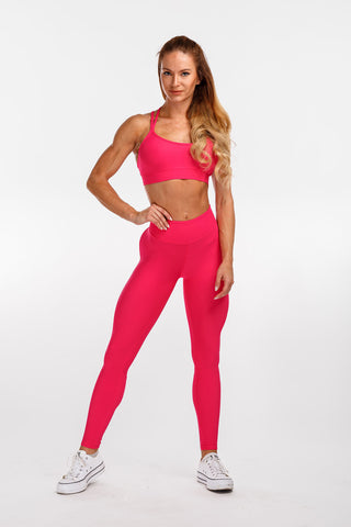 "Curve Leggings ""Pink"""