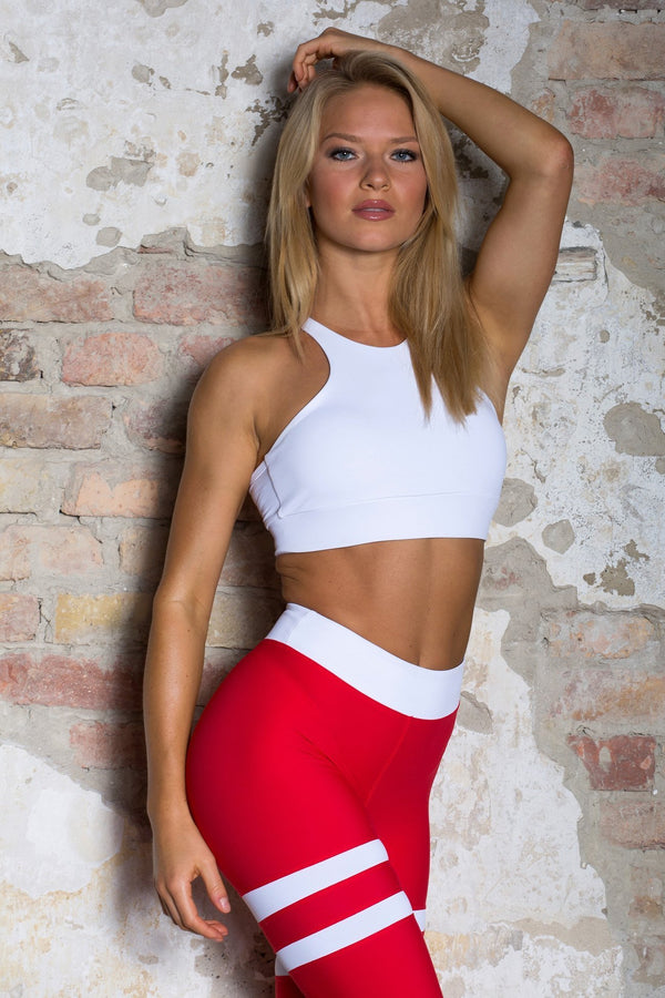 Red Bomb legging - KEO Fitness Ireland
