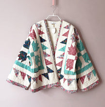 Load image into Gallery viewer, Kitty quilted kimono jacket