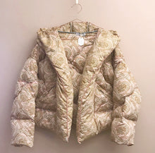 Load image into Gallery viewer, Rose eiderdown jacket