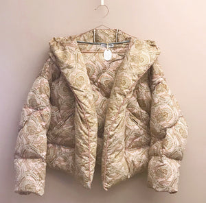 Rose eiderdown jacket