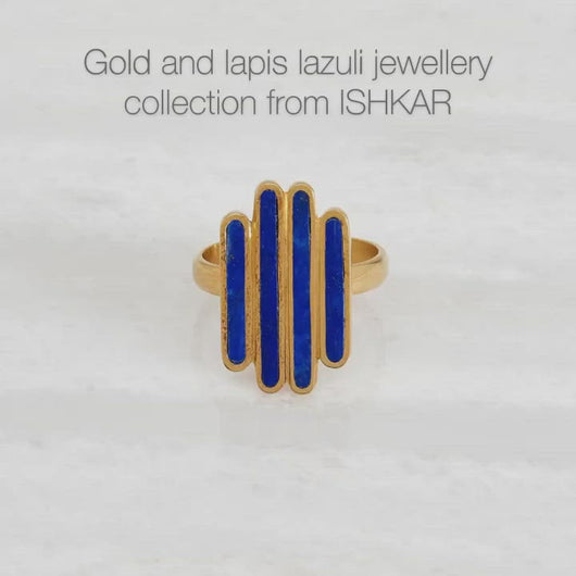 Plum & Belle present Ishkar's gold-plated jewellery
