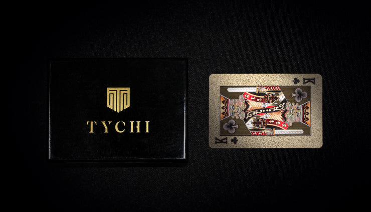 TYCHI GOLD | Premium Playing Cards