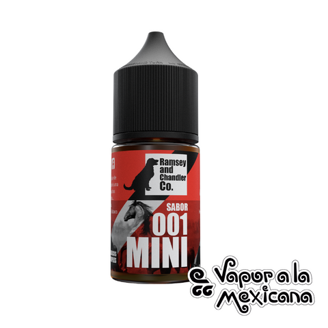 001 Tabaco 30ml | Ramsey and Chandler CO. | Vapor a la Mexicana