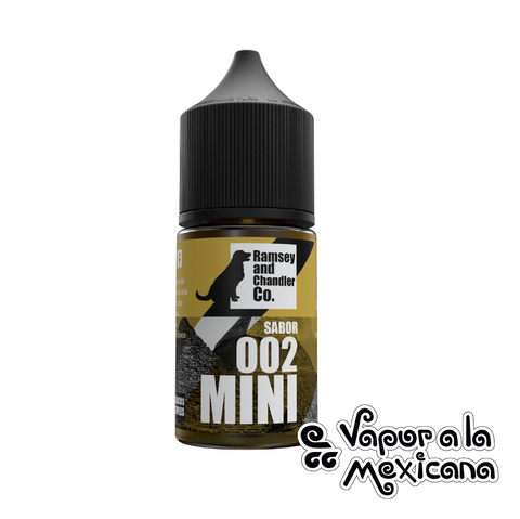 002 Tabaco 30ml | Ramsey and Chandler CO. | Vapor a la Mexicana