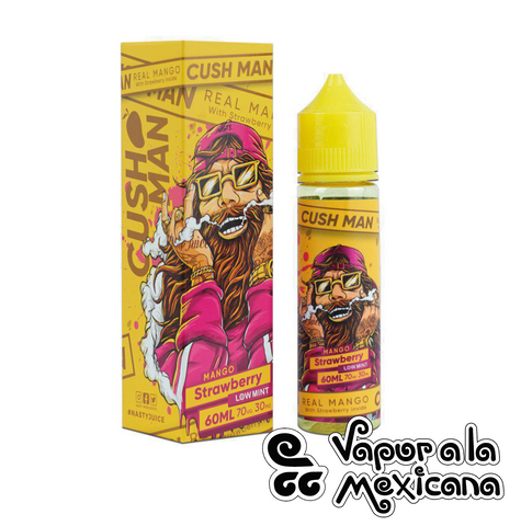 Mango Strawberry (Cush Man Series) 60ml | Nasty Juice