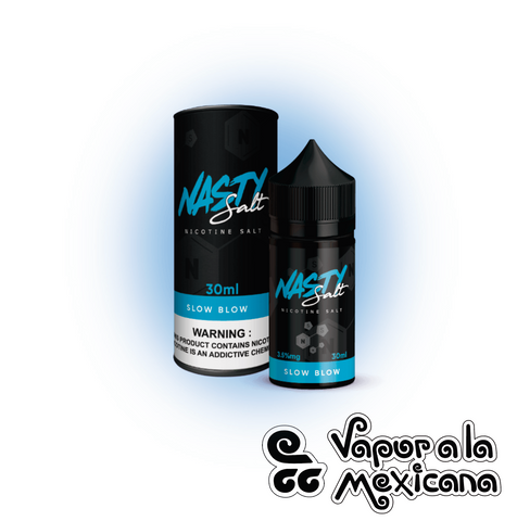 Slow Blow 30ml NicSalts | Nasty Juice | Vapor a la Mexicana