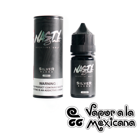 Silver Blend 30ml NicSalts | Nasty Juice | Vapor a la Mexicana