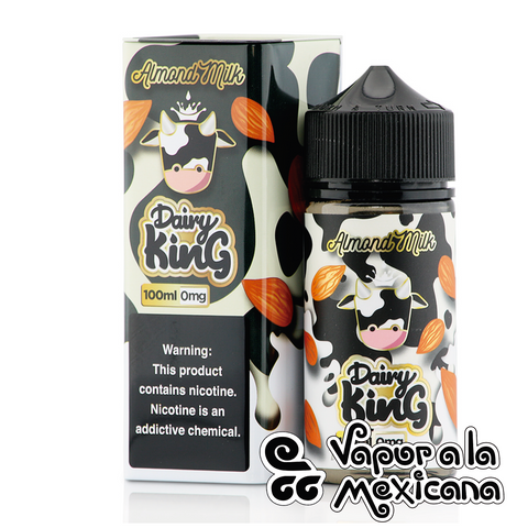 Almond Milk 100ml | Dairy King | Vapor a la Mexicana