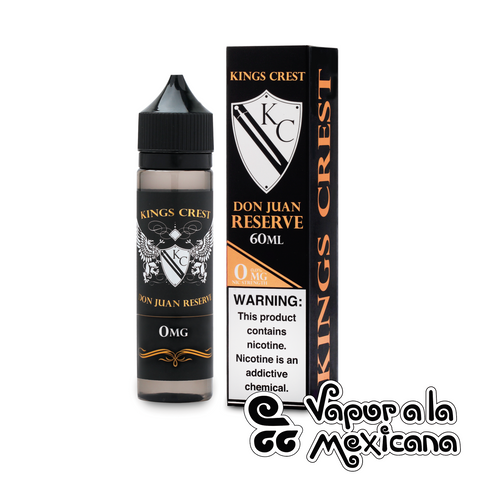 Don Juan Reserve 60ml | Kings Crest