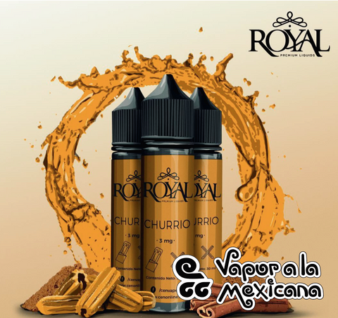 Churrio 30ml | ROYAL | Vapor a la Mexicana