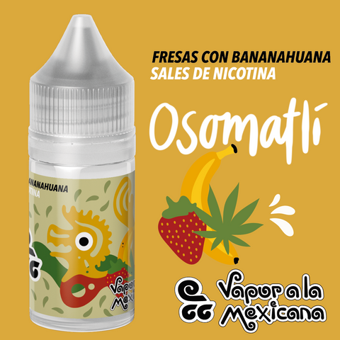 Osomatli NicSalts 30ml | Vapor a la Mexicana
