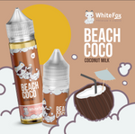 Beach Coco NicSalts 30ml | White Fox | Vapor a la Mexicana