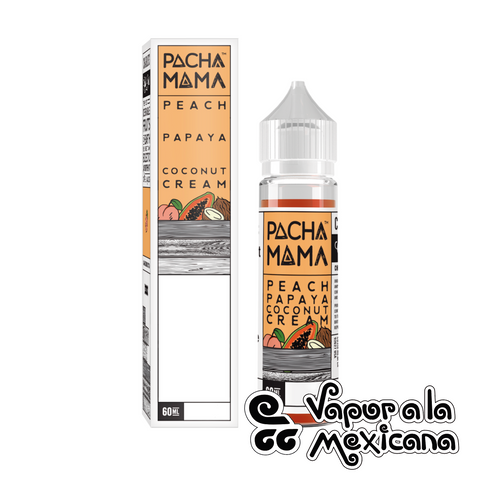 Peach Papaya Coco Cream 60ml | Pachamama