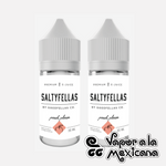 Peach Please NicSalts 30ml | Saltyfellas | Vapor a la Mexicana
