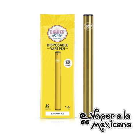 Disposable Vape Pen (400puff) | Dinner Lady | Vapor a la Mexicana