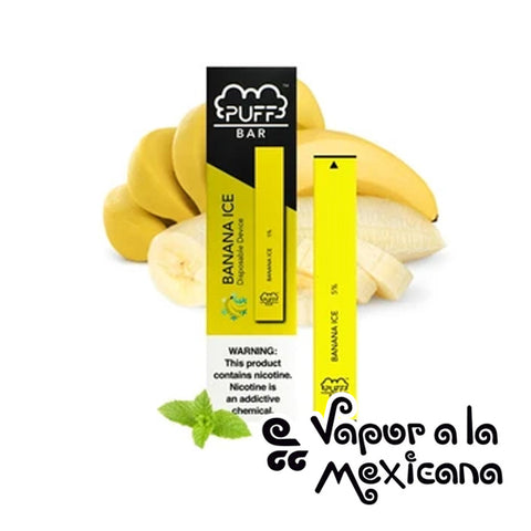 Banana Ice 5% Desechable | Puff Bar