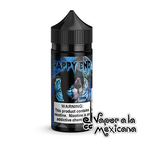 Blue Cotton Candy 100ml | Sadboy Happy End | Vapor a la Mexicana