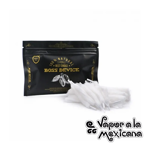 Boss Device Organic Cotton | Shield Cig | Vapor a la Mexicana
