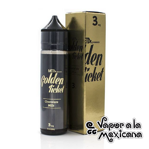 Chocolate Milk 60ml | Golden Ticket | Vapor a la Mexicana