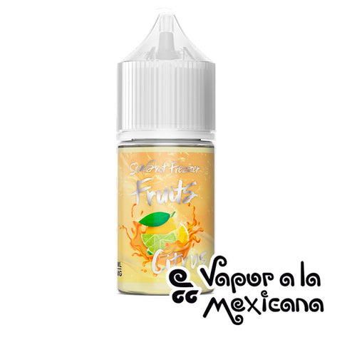 Snapshot Freezer Fruits Citrus 30 ml Nicsalt | Hale & Xale | Vapor a la Mexicana