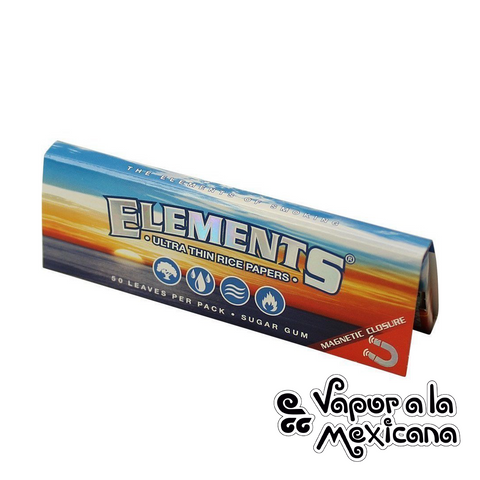 1 1/4 Ultra Thin Rice Papers | Elements | Vapor a la Mexicana