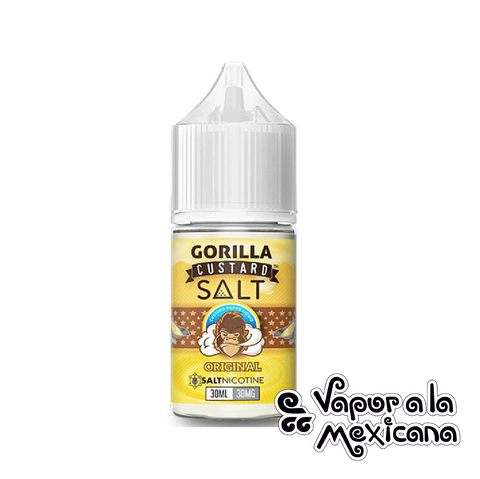 Original NicSalts 30ml | Gorilla Custard | Vapor a la Mexicana
