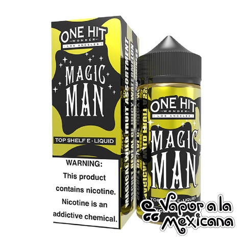 Magic Man 100ml | One Hit Wonder | Vapor a la Mexicana