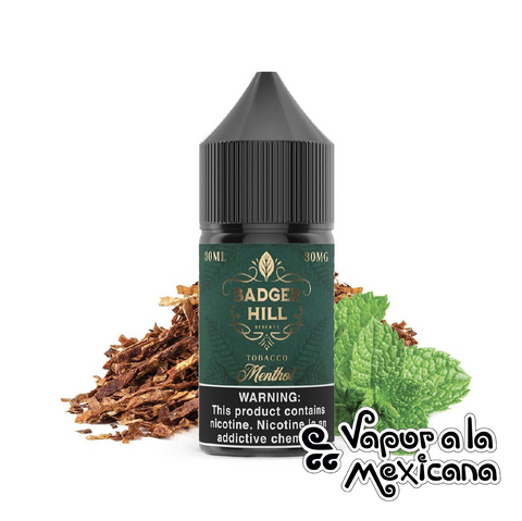 Menthol 30ml | Badger Hill Reserve Salts