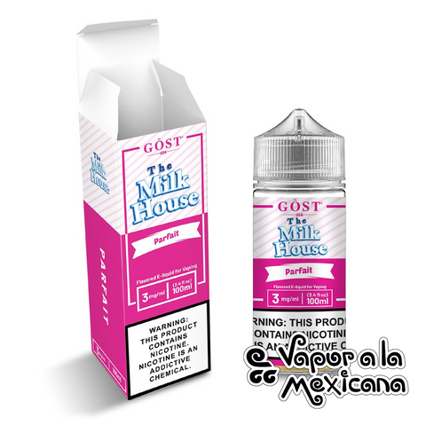 Pairfait 100ml | The Milk House by Gost Vapor | Vapor a la Mexicana