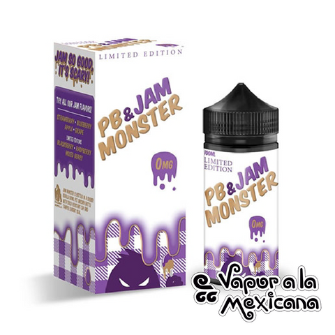 Limited Edition 100ml | PB & Jam Monster | Vapor a la Mexicana