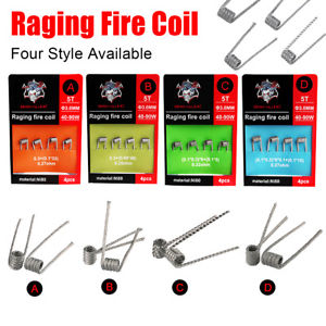 Demon Killer Raging Fire Coil Ni80 4pcs