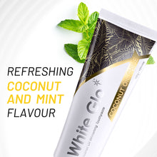 Load image into Gallery viewer, White Glo Coconut Oil Whitening Toothpaste Refreshing Coconut & Mint 150g